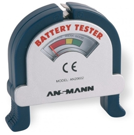 BATTERITESTER ANSMANN ANALOG