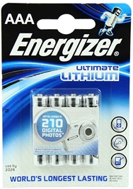 ENERGIZER LITHIUM AAA/LR03 4 STK.