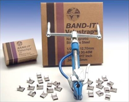 "Band-It Band bånd rustfri 15,9 (5/8"") mm, 30,5 m."
